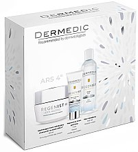 Düfte, Parfümerie und Kosmetik Gesichtspflegeset - Dermedic Regenist (Gesichtscreme 50ml + Mizellen-Reinigungswasser 100ml + Augenkonturcreme 7ml)