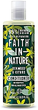Düfte, Parfümerie und Kosmetik Conditioner für alle Haartypen mit Seetang und Zitrusfrüchten - Faith in Nature Hair Conditioner Seaweed Citrus