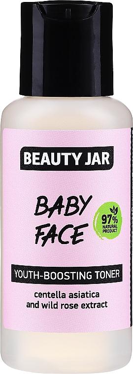 Verjüngendes Gesichtstonikum mit Gotu Kola-Extrakt und Wildrose - Beauty Jar Baby Face Youth-Boosting Toner