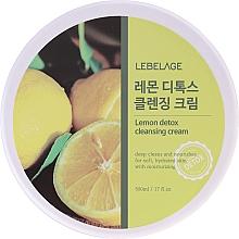 Düfte, Parfümerie und Kosmetik Entgiftende Gesichtsreinigungscreme mit Zitrone - Lebelage Lemon Detox Cleansing Cream