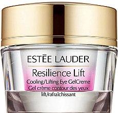 Düfte, Parfümerie und Kosmetik Kühlende Gel-Creme für die Augenpartie mit Lifting-Effekt - Estee Lauder Resilience Lift Cooling/Lifting Eye Gel Creme