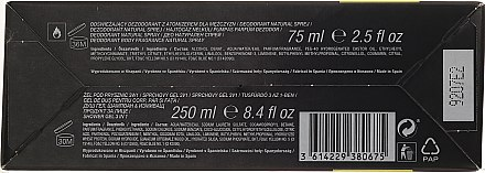 Adidas Pure Game - Duftset (Deodorant/75ml + Duschgel/250ml) — Bild N2