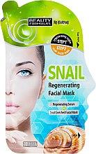 Düfte, Parfümerie und Kosmetik 2-Stufige Gesichtspflege mit Schneckenschleim - Beauty Formulas Snail Regenerating Facial Mask