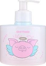 Düfte, Parfümerie und Kosmetik Natürliche Flüssigseife mit Himbeer- und Erdbeerextrakt - Oh!Tomi Piggy Liquid Soap