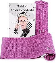 Düfte, Parfümerie und Kosmetik Reiseset Gesichtstücher MakeTravel lila - Makeup Face Towel Set
