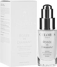 Düfte, Parfümerie und Kosmetik Aufhellendes Gesichtsserum mit Diamantpulver und Vitamin C - Chlorys Rose De Diamant Brightening Serum
