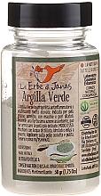 Düfte, Parfümerie und Kosmetik Grüne Tonerde für das Gesicht - Le Erbe di Janas Green Clay (im Glas)