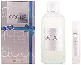 Düfte, Parfümerie und Kosmetik Luxana Aqua Uno - Duftset (Eau de Toilette 1000ml + Eau de Toilette 50ml)