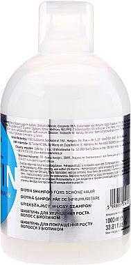 Biotin Shampoo für schönes Haar - Kallos Cosmetics Biotin Beautifying Shampoo — Bild N2