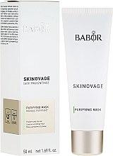 Düfte, Parfümerie und Kosmetik Klärende und mattierende Intensivmaske für ölige und unreine Haut - Babor Skinovage Purifying Mask