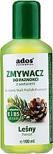 Düfte, Parfümerie und Kosmetik Nagellackentferner mit Waldduft - Ados Acetone Nail Polish Remover