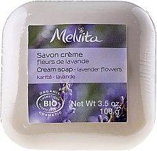 Düfte, Parfümerie und Kosmetik Cremige Seife mit Lavendel - Melvita Body Care Savon Lavender Flowers Soap