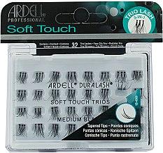 Düfte, Parfümerie und Kosmetik Wimpernbüschel-Set - Ardell Soft Touch Trio Individuals Medium