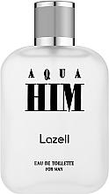 Düfte, Parfümerie und Kosmetik Lazell Aqua Him - Eau de Toilette