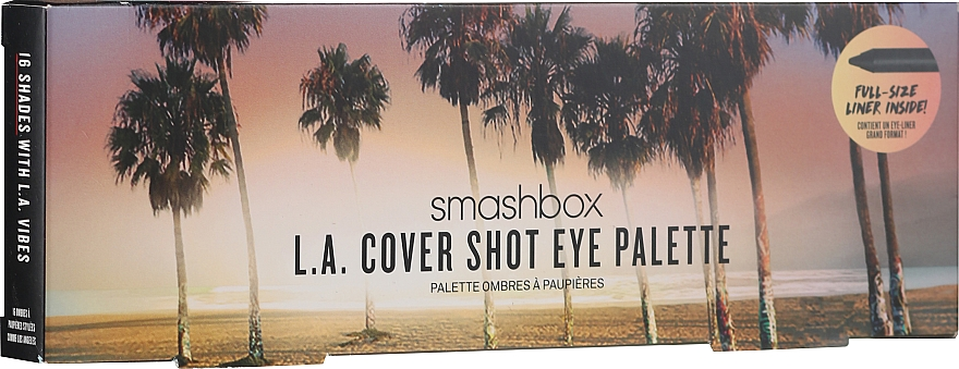 Lidschattenpalette - Smashbox L.A. Cover Shot Eye Palette — Bild N2