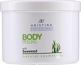 Düfte, Parfümerie und Kosmetik Körperpeeling mit Algenextrakt - Hristina Professional Seaweed Body Peeling