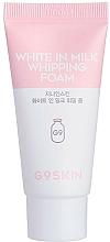 Düfte, Parfümerie und Kosmetik Feuchtigkeitsspendender und aufhellender Gesichtsreinigungsschaum mit Milchproteinen und Glykol- und Salizylsäure - G9Skin White In Milk Whipping Foam (Mini)