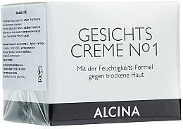 Düfte, Parfümerie und Kosmetik Feuchtigkeitsspendende Gesichtscreme für trockene Haut - Alcina №1
