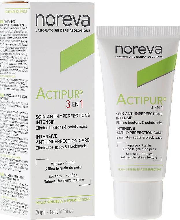 3in1 Gesichtspflege für Problemhaut - Noreva Actipur Intensive Anti-Imperfection Care 3in1