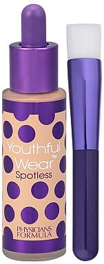 Foundation mit Foundationpinsel - Physicians Formula Youthful Wear Spotless Foundation SPF 15 — Bild N1
