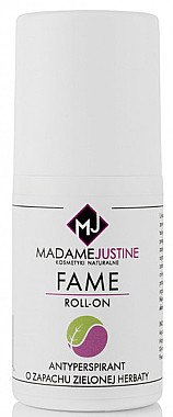 Deo Roll-on Antitranspirant - Madame Justine Fame Roll-On Zielona Herbata — Bild N1