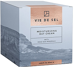Düfte, Parfümerie und Kosmetik Feuchtigkeitsspendende Tagescreme für das Gesicht mit Mineralien aus dem Toten Meer - Vie De Sel Moisturizing Day Cream