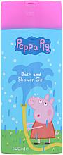 Düfte, Parfümerie und Kosmetik 2in1 Schaumgel zum Baden und Waschen - Kokomo Peppa Pig Bath and Shower Gel