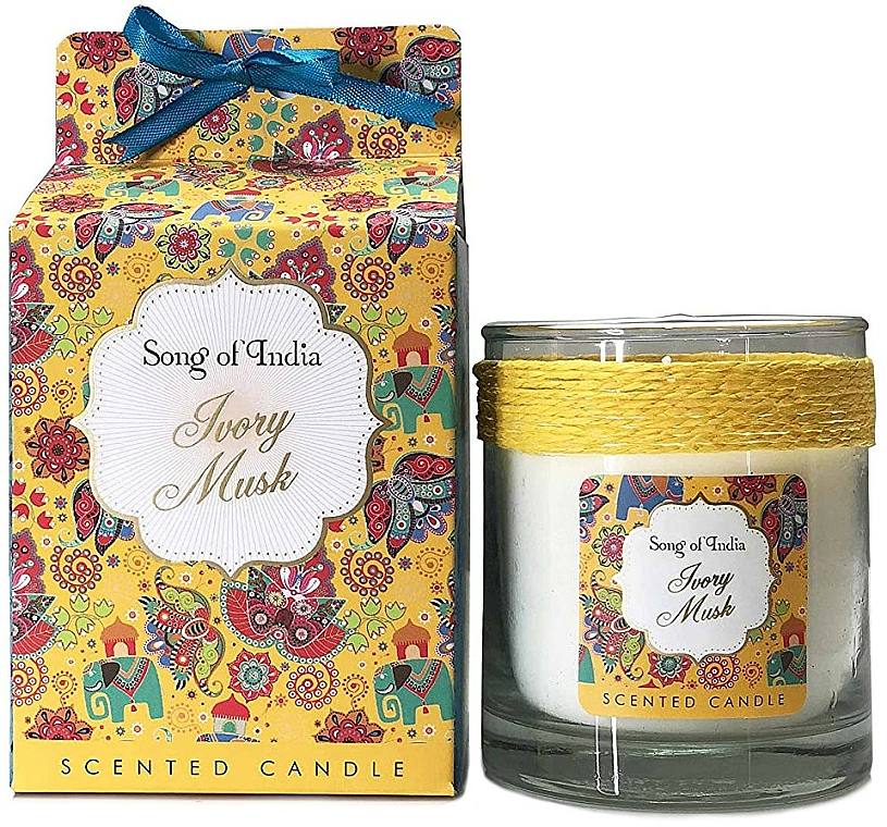 Duftkerze im Glas Ivory Musk - Song of India Ivory Musk Scented Candle — Bild N1