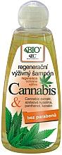 Düfte, Parfümerie und Kosmetik Pflegendes Shampoo mit Cannabisextrakt, Azelainsäure und Keratin - Bione Cosmetics Cannabis Regenerative Nourishing Shampoo
