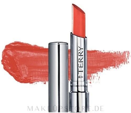 Cremiger Lippenstift - By Terry Hyaluronic Sheer Rouge — Bild 02 - Mango Tango