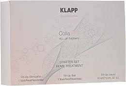 Düfte, Parfümerie und Kosmetik Gesichtspflegeset mit Kollagen - Klapp Collagen Starter Set Home Treatment