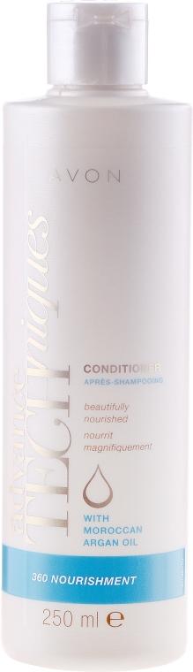 "Pflegender Conditioner ""Complex Care"" - Avon Advance Techniques 360 Nourish Moroccan Argan Oil Conditioner — Bild N1"