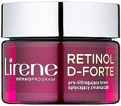 Düfte, Parfümerie und Kosmetik Verjungende Tagescreme mit Lifting-Effekt 50+ - Lirene Retinol D-Forte Face Cream 50+