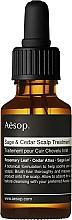 Düfte, Parfümerie und Kosmetik Haar- und Kopfhautöl mit Salbei & Zeder für reaktive, trockene und gestresste Kopfhaut - Aesop Sage & Cedar Scalp Treatment
