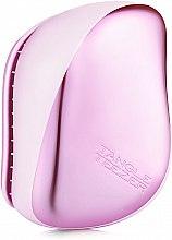 Düfte, Parfümerie und Kosmetik Kompakte Haarbürste chrom-rosa - Tangle Teezer Compact Styler Baby Doll Pink Chrome