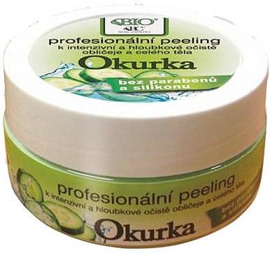 Gesichts- und Körperpeeling mit Gurken - Bione Cosmetics Organic Professional Peeling Cucumber — Bild N1