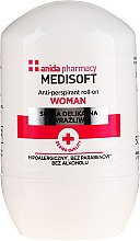 Düfte, Parfümerie und Kosmetik Deo Roll-on Antitranspirant - Anida Pharmacy Medisoft Woman Deo Roll-On