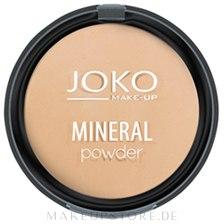 Gebackener Mineralpuder - Joko Mineral Powder — Bild 01 - Transparent