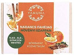 Düfte, Parfümerie und Kosmetik Seife Orange-Cinnamon - Yamuna Orange-Cinnamon Vegetable Soap