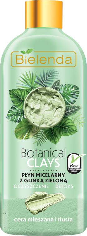 Entgiftendes Mizellen-Reinigungswasser mit grünem Ton - Bielenda Clays — Bild N1