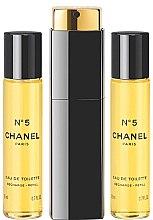 Chanel N5 - Eau de Toilette (3 x Nachfüllung mit Zerstäuber) — Bild N1