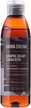 Anti-Schuppen Shampoo für schwaches Haar mit Extrakt aus schwarzer Rübe - Barwa Herbal Shampoo — Bild N1