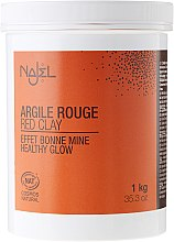 Rote kosmetische Tonerde - Najel Red Clay For Healthy Glow — Bild N1