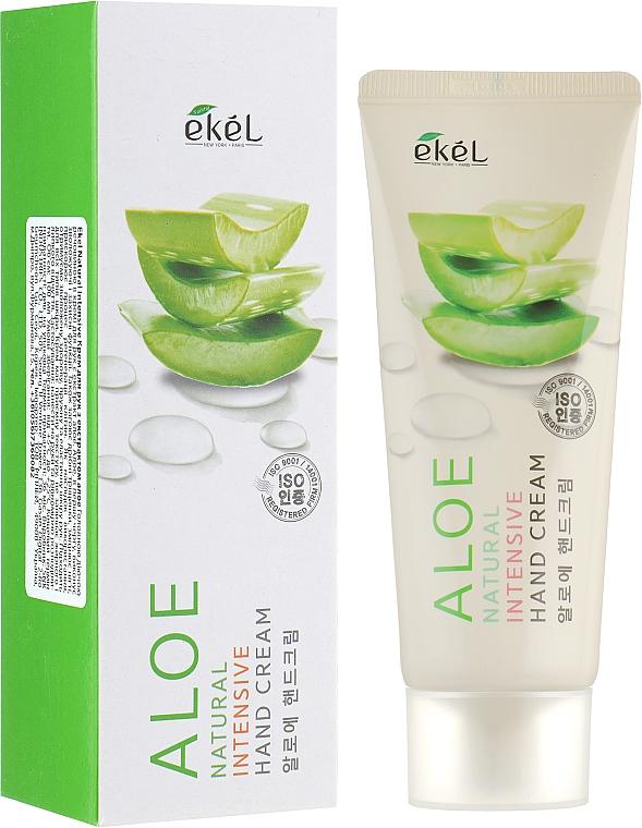 Intensive Handcreme mit Aloe-Extrakt - Ekel Natural Intensive Aloe Hand Cream — Bild N1