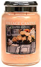 Duftkerze English Flower Shop - Village Candle English Flower Shop Petite Glass Jar — Bild N2