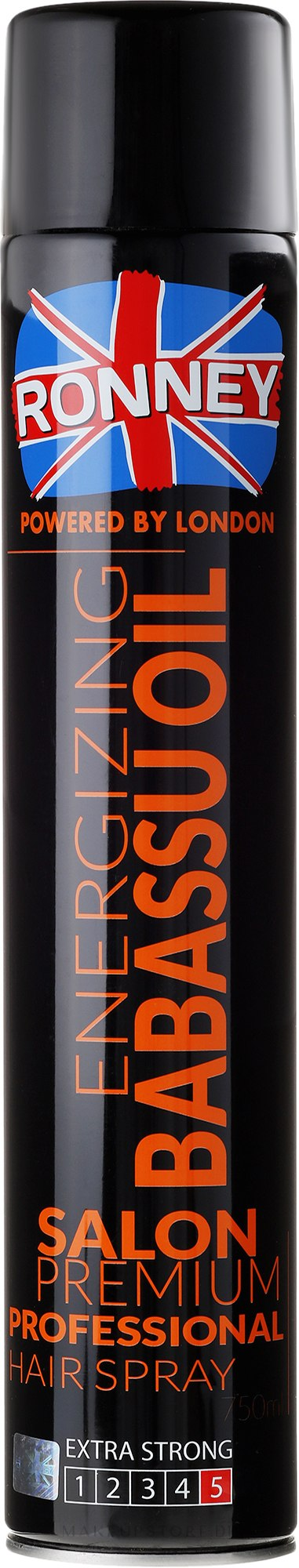 Haarlack - Ronney Energizing Babbasu Oil Hair Spray — Bild 750 ml