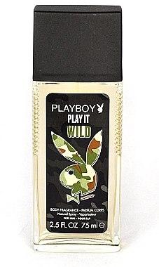 Playboy Play It Wild - Parfümiertes Deodorant Körperspray — Bild N1
