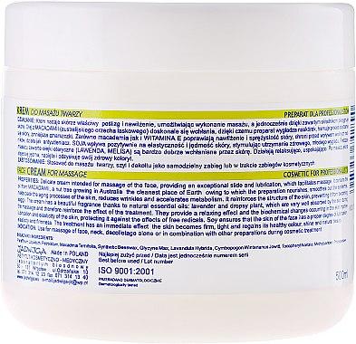 Verwöhnenede Massagecreme für Gesicht - Jadwiga Macadamia Cream — Bild N2
