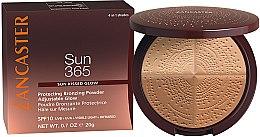 Düfte, Parfümerie und Kosmetik Schützender Bronzepuder LSF 10 - Lancaster 365 Sun Protecting Bronzing Face Powder SPF10 Adjustable Glow