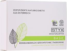 Düfte, Parfümerie und Kosmetik Gesichtspflegeset - Styx Naturcosmetic (Reinigungsmilch 30ml + Gesichtstonikum 30ml + Tagescreme 30ml)